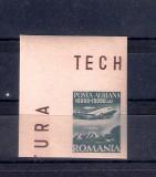 ROMANIA 1947 - INSTIT. DE STUDII ROMANO SOVIETIC - POSTA AERIANA, MNH - LP 216