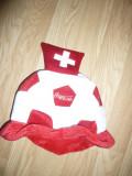 Palarie a suporterilor Echipei Nationale Fotbal a Elvetiei ,d=30cm