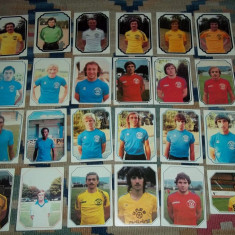 Lot 44 cartonase Americana France Football 79