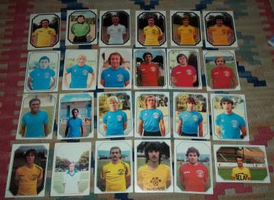 lot 44 cartonase Americana France Football 79 foto