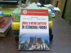 Modele si metode cantitative in economia firmei - Mariana Zaharia