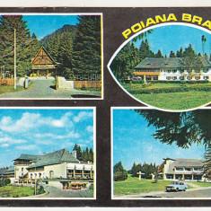 Bnk cp Poiana Brasov - Vedere - circulata - marca fixa, Printata