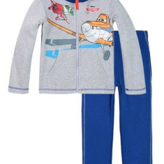 Trening copii, flausat, Disney Planes, gri/albastru, 3 ani/98 cm