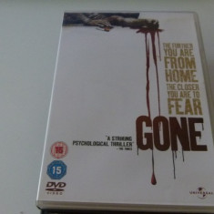 Gone -dvd, Engleza