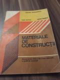 MATERIALE DE CONSTRUCTII DE VASILE MACIUCA MANUAL CL. IX PROFIL CONSTRUCTII 1995