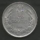 ROMANIA  CAROL II  250 LEI 1939  ,   Argint 835 / 1000 - a UNC ,  in cartonas