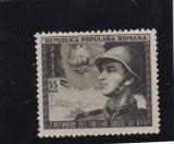 ROMANIA 1953  LP 353   ZIUA  ARMATEI, Nestampilat