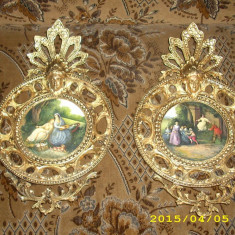 Uleiuri in bronz tip fragonard, Ornamentale