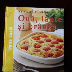 Oua, lapte si branza Reader's Digest