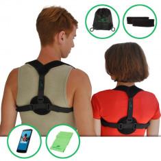 Ham corector postura/ orteza clavicula cu banda elastica