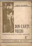 SCARLAT CALLIMACHI - DIN CARTI VECHI - 1946