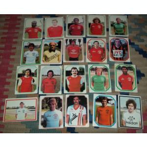 lot 44 cartonase Americana France Football 79