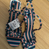 Sandale Zara, 38, Multicolor