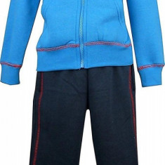 Trening copii, flausat, Disney Mickey Mouse, albastru/bleumarin