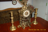Ceas bronz,ansamblu semineu