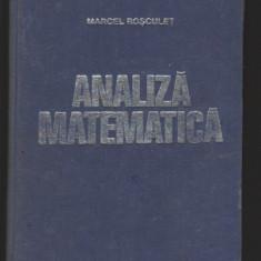 (C8147) ANALIZA MATEMATICA DE MARCEL ROSCULET
