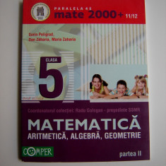 Aritmetica Algebra Geometrie clasa a V-a/2-S. Peligrad, D. Zaharia, M.Zaharia