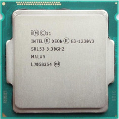 Procesor Xeon E3 1230 V3 socket 1150 Haswell 4 core 8 threads - aprox.  i7 4790s, Intel, Intel Core i7