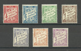 INDIA - ( COLONIE  FRANCEZA )  POSTAGE  DUE  1929  SERIE  COMPLETA   MNH, Nestampilat