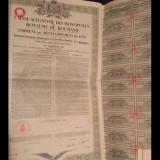 Obligatiune Casa Autonoma a Monopolurilor 5000 Franci, 1931