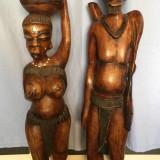 Vand Statuete din mahon, originale din Africa NV (Dakar, Senegal)