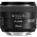 Canon EF 35mm f/2 IS USM, folosit dar ca nou, GARANTIE 20 de luni
