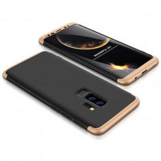 Husa 360 Grade Upzz Protection Samsung Galaxy S9+ Plus Negru Gold