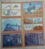 Meserii, mineritul// lot 6 planse pedagogice