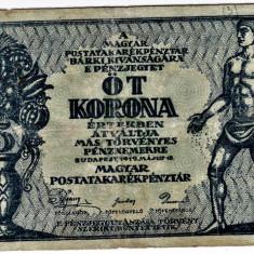Ungaria , revolutia bolsevica , 5 coroane korona 1919 mai 15