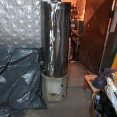 boiler inox pe lemn si electric