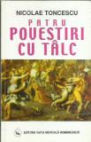 AMS - TONCESCU NICOLAE - PATRU POVESTIRI CU TALC (CU AUTOGRAF)