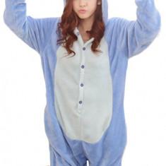 PJM15-4 Pijama intreaga kigurumi, cu model Stitch, M, M/L, S, S/M