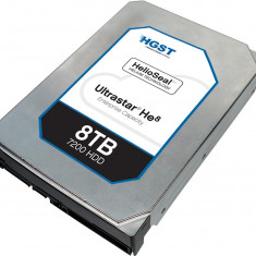 Hard disk Hitachi Ultrastar He8, 6TB, 7200 RPM, SATA 6GB/s, 3.5 inch