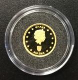 Ghana, 500  sika 2002 comemorativa - Navigatori foenicieni, aur 1,2442 g, .999, Africa