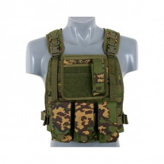 Vesta airsoft modulara plate carrier 8FIELDS RussianCamo-RC molle