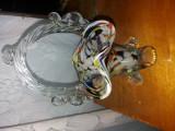 Vaza sticla ;lucrare manuala