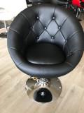 Scaun coafor Daisy negru