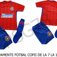 ECHIPAMENTE FOTBAL COPII 7/14 ANI, FCSB, MODEL NOU !!!, YL, YM, YS, YXL, YXXL, Tricou + Pantalon