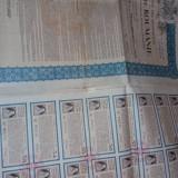 Obligatiune Casa Autonoma a Monopolurilor 2552 Franci, 1929