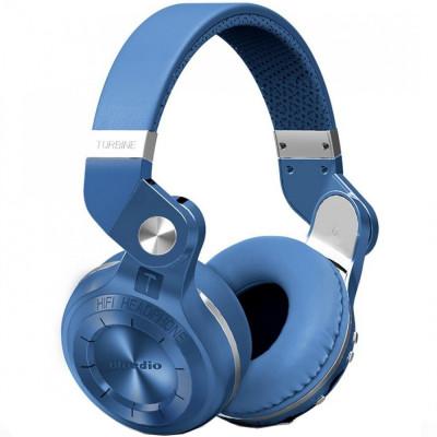 Casti Wireless T2+ Albastru foto