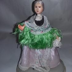 Papusa arta crisana- oradea-Taranca Svab,costum popular traditional,T.GRATUIT