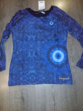 Bluza Desigual Noua, S/M, Albastru