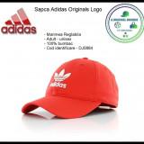 In Stoc! Sapca Adidas Originals - Reglabila - Bumbac - Cod DJ0884, Marime universala, Rosu