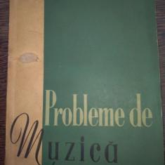 Probleme de muzica 1958 nr 1