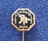 Insigna C.S.M. Rapid Arad - lupte - judo - arte martiale