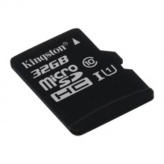 Card Memorie Micro SD 32GB Negru, Kingston