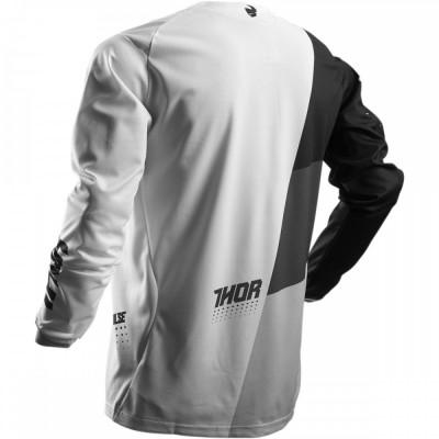 Tricou motocross Thor S7 Plus AKV alb/negru, XXL Cod Produs: MX_NEW 29103892PE foto