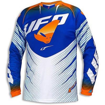 Tricou motocross UFO VOLTAGE culoare albastru/portocaliu M Cod Produs: MX_NEW MG04378CWM foto