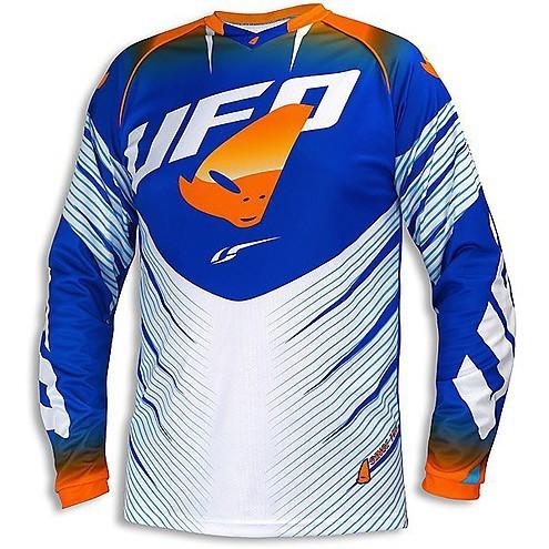 Tricou motocross UFO VOLTAGE culoare albastru/portocaliu M Cod Produs: MX_NEW MG04378CWM