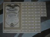 Imprumutul intern de consolidare 1935, titlu de 1000 lei, Romania 1900 - 1950